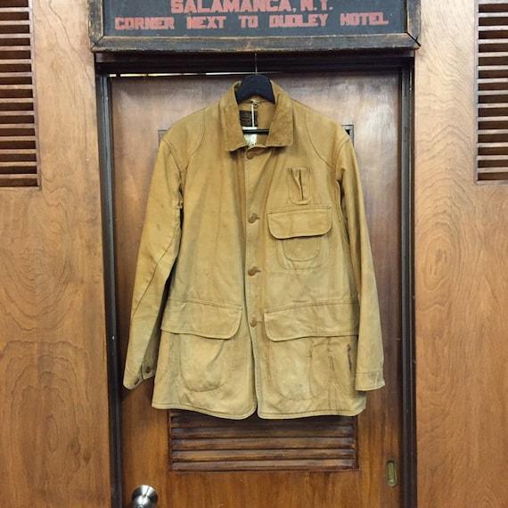 """Vintage 1930's """"Drybak"""" Label Hunting Jacket, Can… - image 2"""