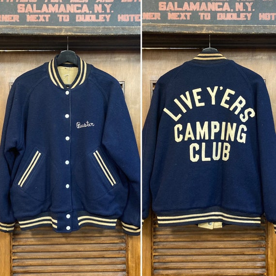 """Vintage 1950's """"Live Wires"""" Camping Club """"Buster"""""""