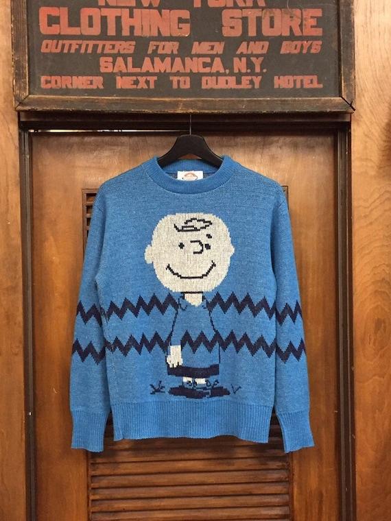 Vintage Charlie Brown Peanuts Sweater, Vintage Swe