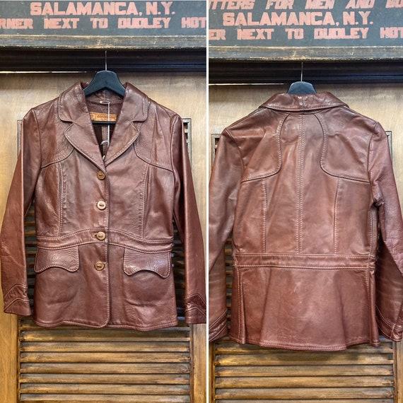 "Vintage 1960's ""Oshwahkon"" East West Style Leather"