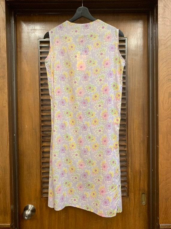 Vintage 1930's Floral Print Cotton Day Dress, Vin… - image 5