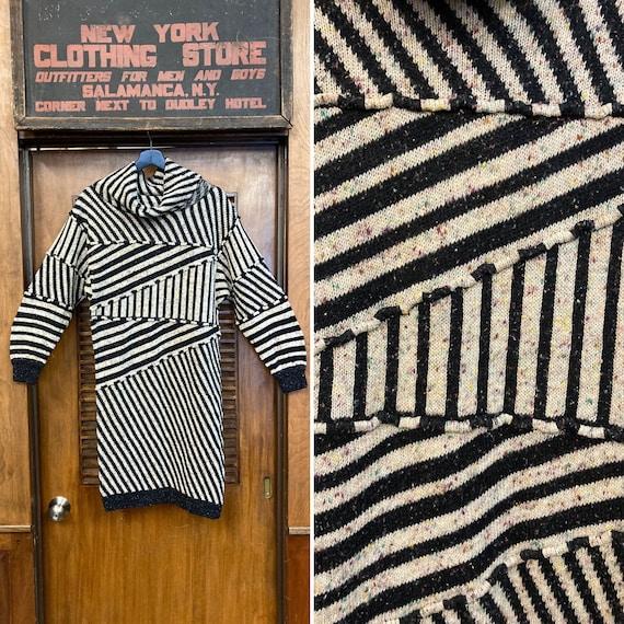 Vintage 1980's Gil Aimbez Avant Garde Knit Cowl Ne