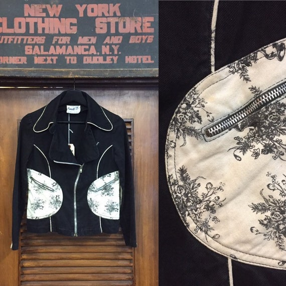 "Vintage 1960's ""Roncelli"" Panel Detail Jacket, Wes"
