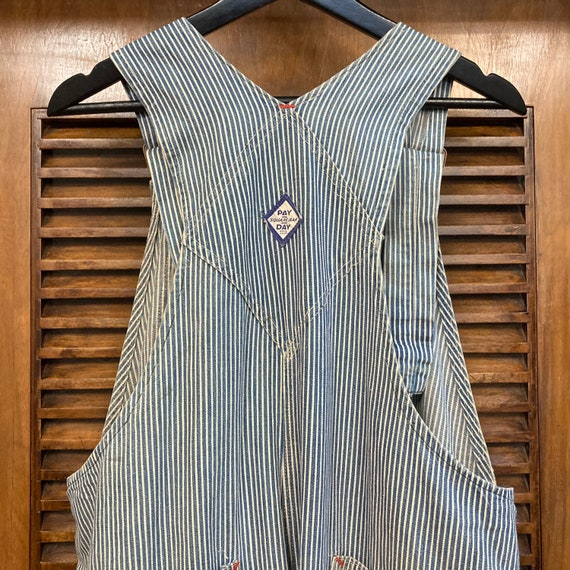 """Vintage 1940's """"Pay Day"""" Hickory Stripe Workwear … - image 8"""