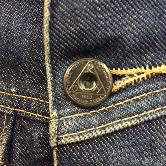 """Vintage 1950's """"Roy Rogers"""" Branded Button Denim … - image 6"""
