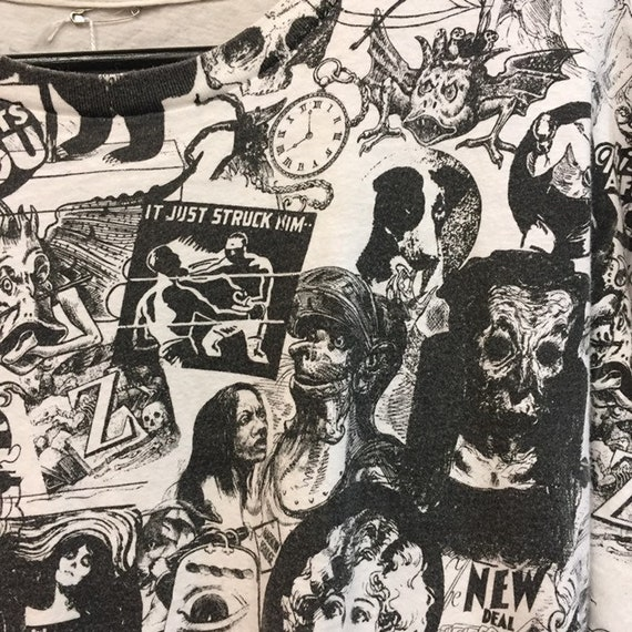 Vintage 1980's Counter Culture and Monsters Pop A… - image 6