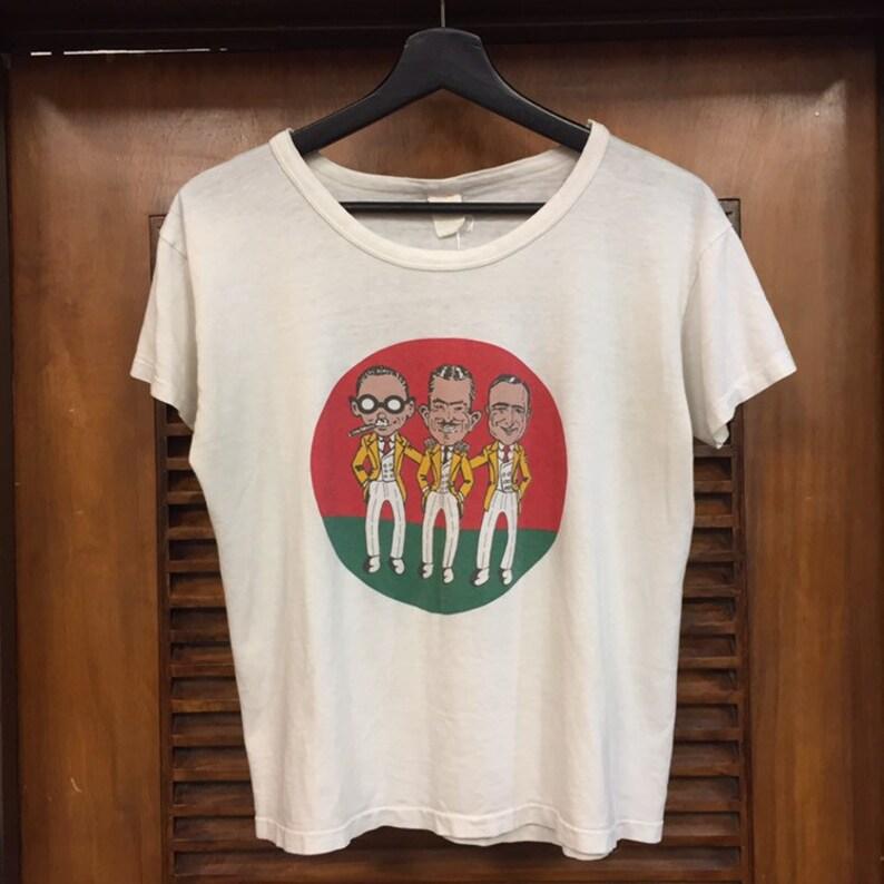 Vintage Clothing 70\u2019s Tube Tee 70\u2019s Graphic Tee 70\u2019s Graphic Tee Shirt Vintage 1970\u2019s Pep Boys Auto Shop Cartoon Tee