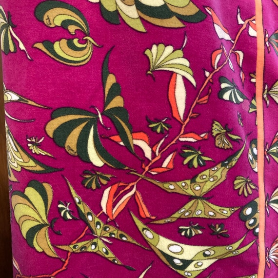 "Vintage 1960's Butterfly Pattern ""Emilio Pucci"" V… - image 7"