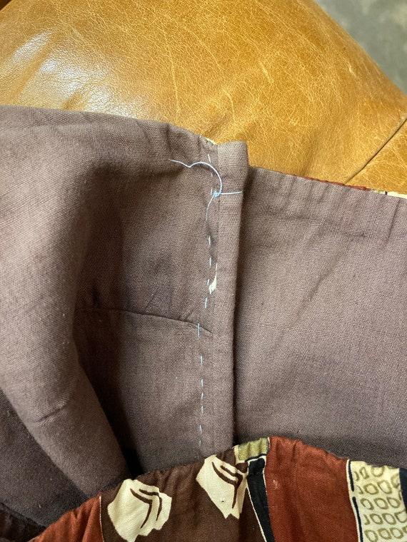 Vintage 1950's Surfriders Tiki Asian Cotton Asymm… - image 9
