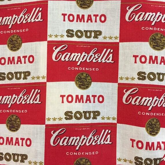 Vintage 1960's Campbell's Soup Pop Art Shirt Warh… - image 9
