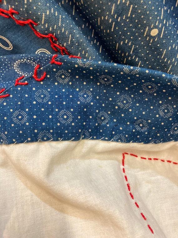 Vintage 1960's Calico Patchwork Dress, Vintage Ca… - image 8