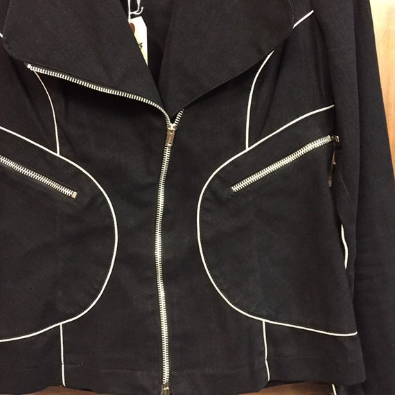 """Vintage 1960's """"Roncelli"""" Label Glam Rock Jacket,… - image 5"""