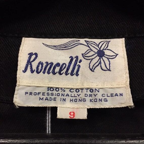"""Vintage 1960's """"Roncelli"""" Label Glam Rock Jacket,… - image 6"""