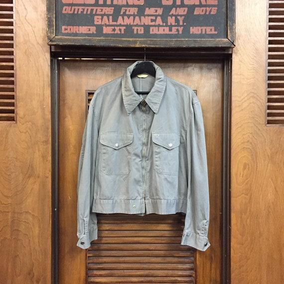 "Vintage 1950's ""Penney's"" Patch Pocket Workwear J… - image 2"