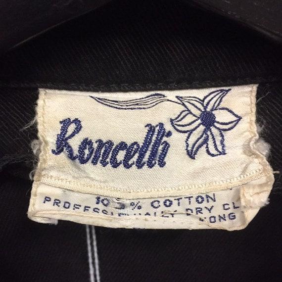 "Vintage 1960's ""Roncelli"" Panel Detail Jacket, We… - image 5"