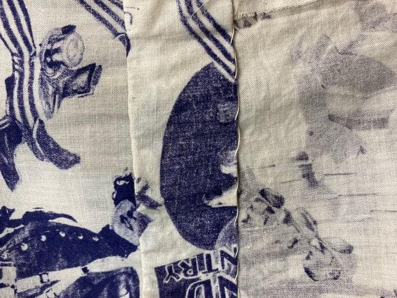 Vintage 1960s Pop Art Print Patriotic Dress, Vint… - image 8