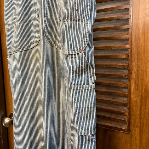 """Vintage 1940's """"Pay Day"""" Hickory Stripe Workwear … - image 10"""