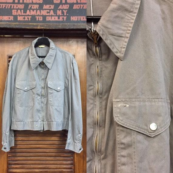 """Vintage 1950's """"Penney's"""" Patch Pocket Workwear Ja"""