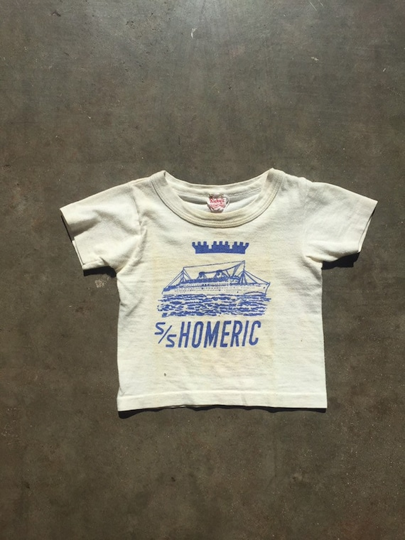 "Vintage 1950's Children's / Baby / Infant ""S/S Hom"