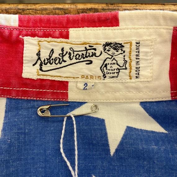 Vintage 1960's American Flag Abbie Hoffman Pop Ar… - image 8