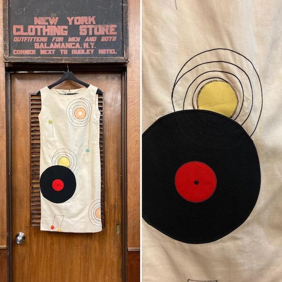 Vintage 1960's Rock n Roll Record Music Pop Art Dr