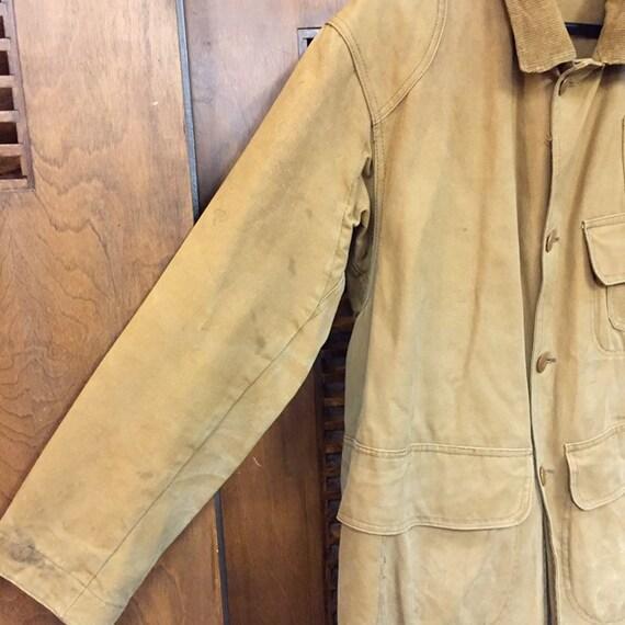 """Vintage 1930's """"Drybak"""" Label Hunting Jacket, Can… - image 5"""