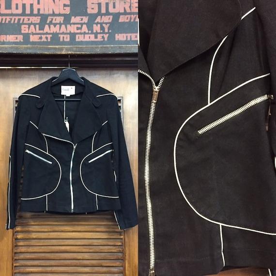 """Vintage 1960's """"Roncelli"""" Label Glam Rock Jacket,"""