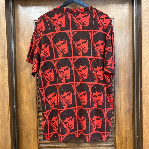 Vintage 1980's Elvis Presley Warhol Style Cotton … - image 4