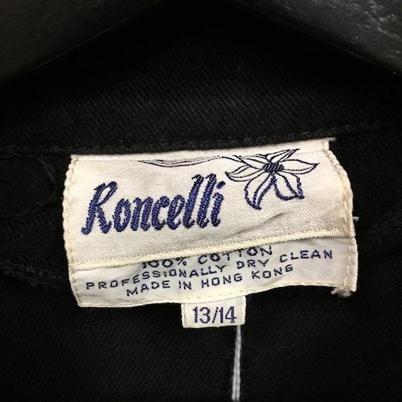 "Vintage 1960's ""Roncelli"" Brand Two-Tone Denim Gl… - image 9"