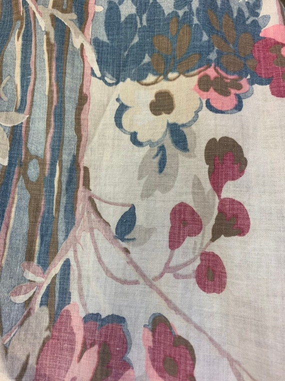 Vintage 1930's Floral Cotton Duster Coat, Vintage… - image 6
