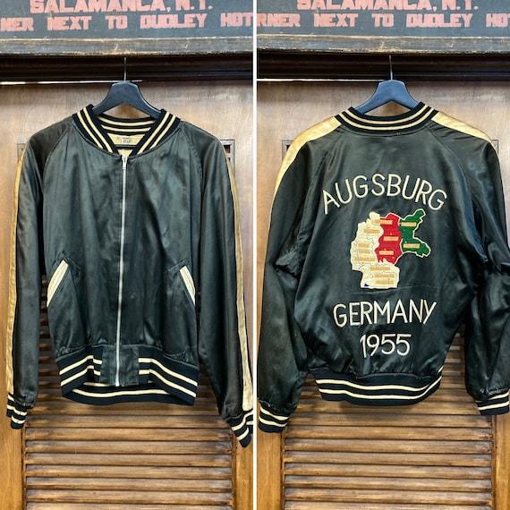 Vintage 1950's Germany Tour Souvenir Jacket, 50's