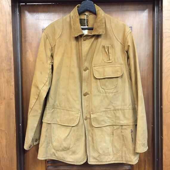 """Vintage 1930's """"Drybak"""" Label Hunting Jacket, Can… - image 3"""