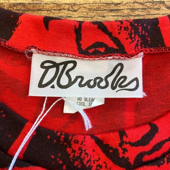 Vintage 1980's Elvis Presley Warhol Style Cotton … - image 8