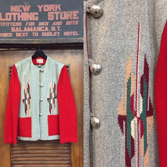 Vintage 1950's  Southwest Chimayo Jacket, Vintage