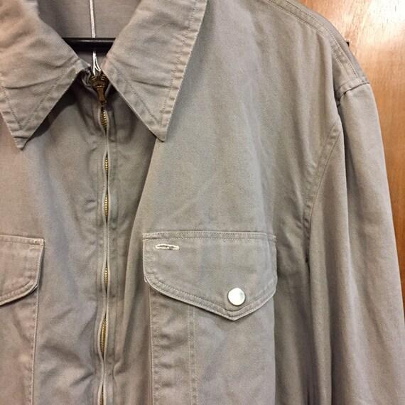 "Vintage 1950's ""Penney's"" Patch Pocket Workwear J… - image 5"