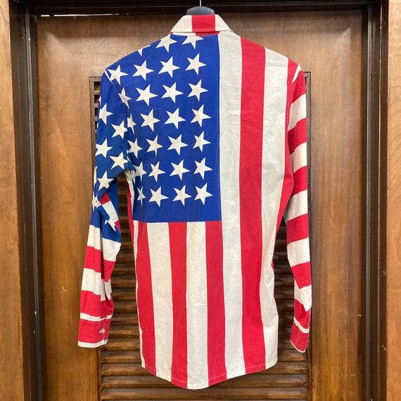 Vintage 1960's American Flag Abbie Hoffman Pop Ar… - image 4