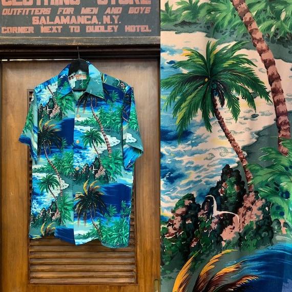 Vintage 1950's Polynesian Sportswear Label Tropica