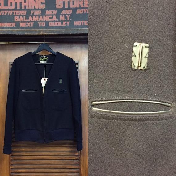 """Vintage 1960's """"West Point"""" Workwear Sweater Jacke"""