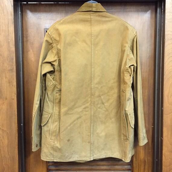 """Vintage 1930's """"Drybak"""" Label Hunting Jacket, Can… - image 4"""