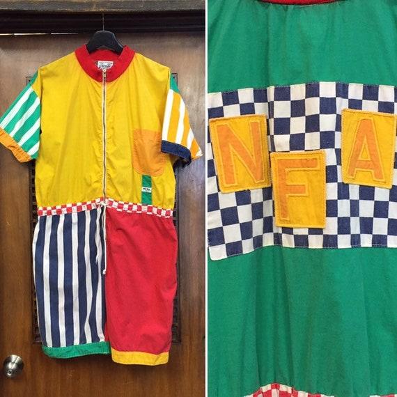 """Vintage 1980's """"Naf Naf"""" Label New Wave Outfit Rom"""