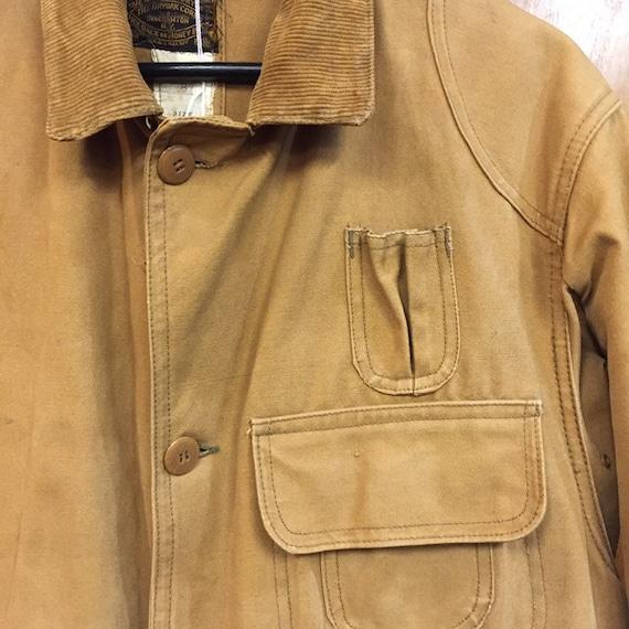 """Vintage 1930's """"Drybak"""" Label Hunting Jacket, Can… - image 7"""