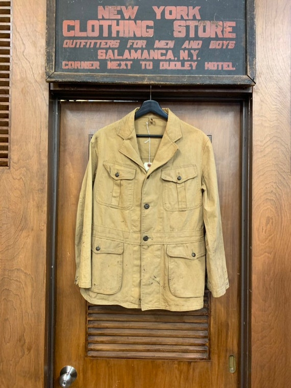 Vintage 1920's Boy Scout Uniform Jacket with Back