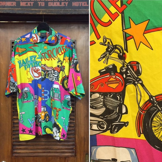"""Vintage 1990's """"Versace"""" Label Harley and Betty Bo"""