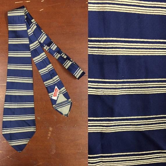 Vintage 1930's, Wembley, Stripe Design Swing Tie,