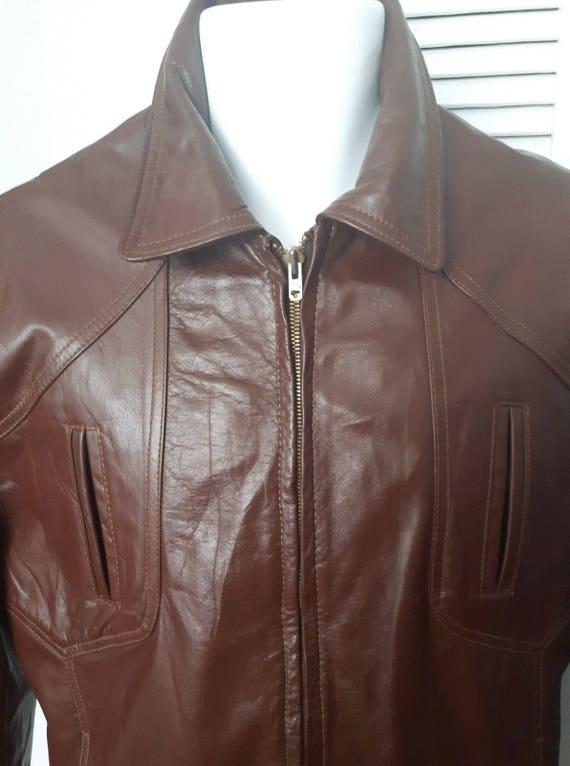 Vintage REED Sportswear leather jacket