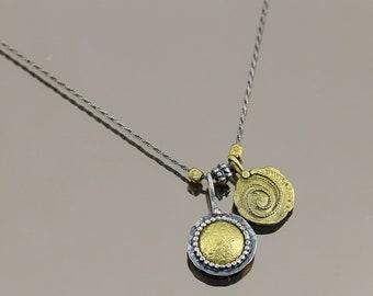 Vintage Snake Design Necklace 925 Sterling Silver NC 1297