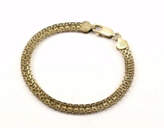 401744712542 Vintage Triple Chain Heart Tag Toggle Bracelet 925 Sterling Br 837