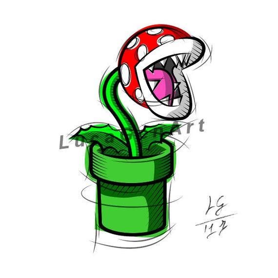 plante carnivore super mario