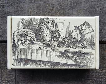 Alice in Wonderland Box, Alice Tea Party Scene