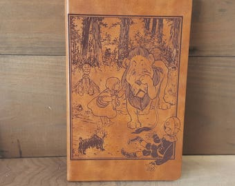 Wizard of Oz Journal (large brown)